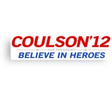 Coulson 2012 Canvas Print