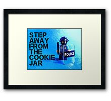 Step away from the cookie jar, by Tim Constable Framed Print