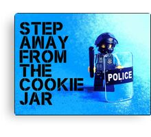 Step away from the cookie jar, by Tim Constable Canvas Print