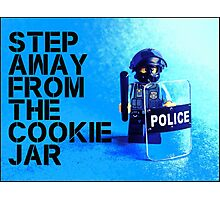 Step away from the cookie jar, by Tim Constable Photographic Print