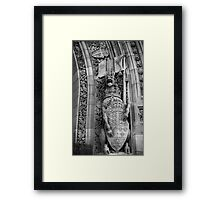 Centre Block 3 Framed Print