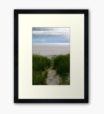Land's End Framed Print
