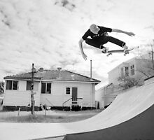 Barry Mansfield, bs ollie. by Luke Carl Thompson