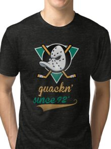 Mighty Ducks  Tri-blend T-Shirt