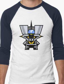 Mekkachibi Black Mazinger Men's Baseball ¾ T-Shirt