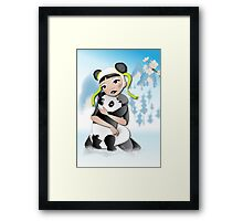 Twisted - Wild Tales: Funi and the Panda Framed Print