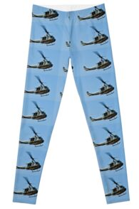 Bell UH-1 Iroquois Helicopter - (Huey) Leggings