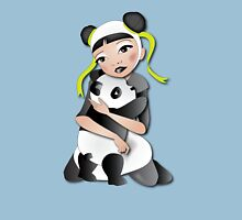 Twisted - Wild Tales: Funi and the Panda Womens Fitted T-Shirt