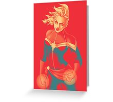 Captain Greeting Card