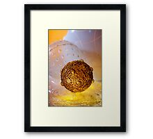 Greetings Earthling Framed Print