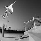 Nick Boserio, kickflip. by Luke Carl Thompson