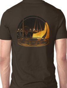 bridge and castle at night Unisex T-Shirt