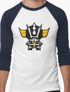 Mekkachibi Black Grendizer Men's Baseball ¾ T-Shirt