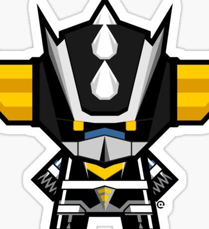Mekkachibi Black Grendizer Sticker