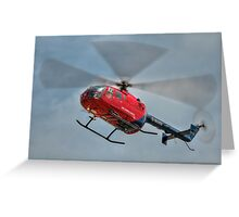 MBB BO-105 Air Ambulance  Greeting Card