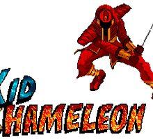 Kid Chameleon by Lupianwolf