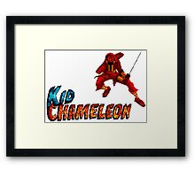 Kid Chameleon Framed Print