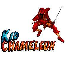 Kid Chameleon Photographic Print