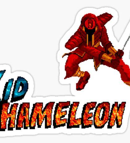 Kid Chameleon - SEGA Genesis Title Screen Sticker