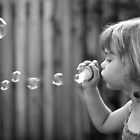 Blowing Bubbles  by Nicole Barnes
