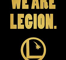 Legion of Superheroes, We Are Legion by stygianxiron