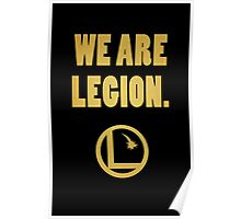 Legion of Superheroes, We Are Legion Poster