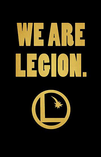 Legion of Superheroes, We Are Legion by stygianxiron
