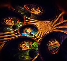 Butterfly Spiral by Pam Amos