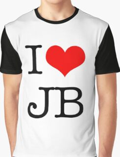 I Love JB Graphic T-Shirt