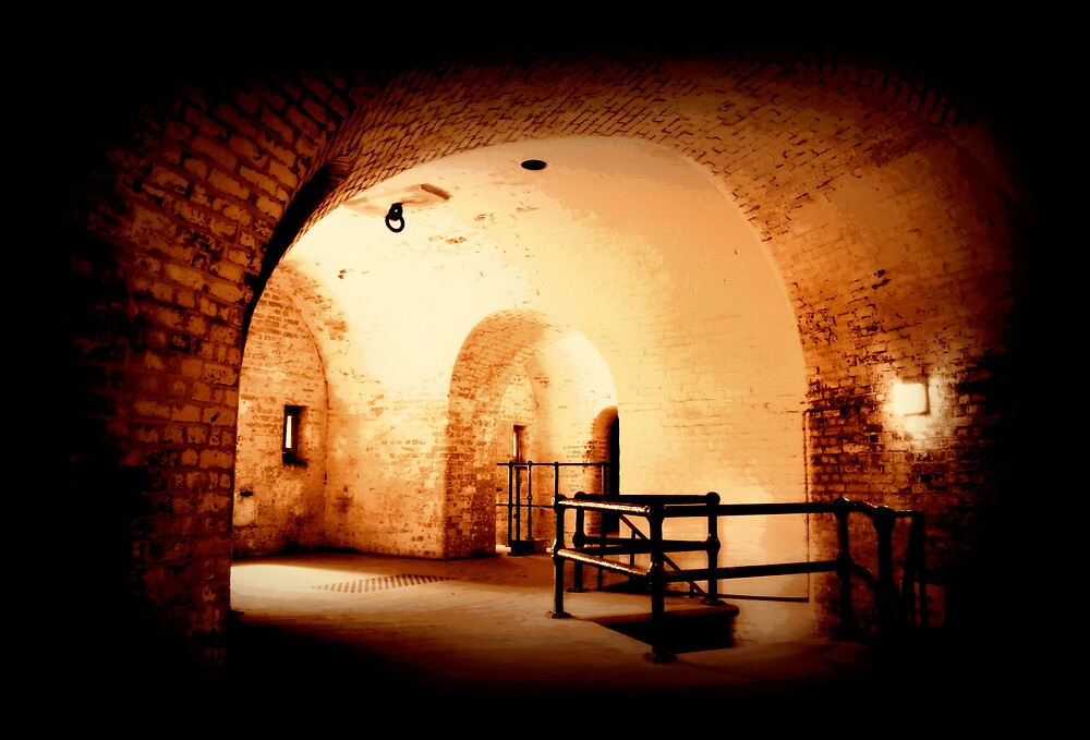 fort nelson tunnels by keefer1000