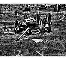 Vehicle Graveyard Photographic Print