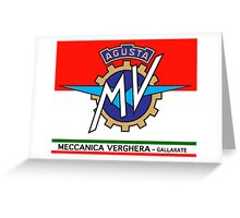 MV AGUSTA Greeting Card