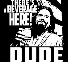 dude abides big lebowski  by krassrocks