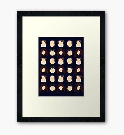 Ani: A Parody Tiled Framed Print