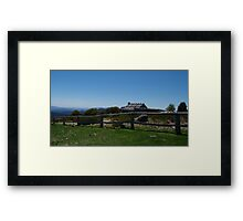Craigs Hut, Mt. Stirling, Alpine National Park, Victoria Framed Print