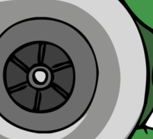 Turbo Turtle Sticker