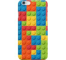 Colourful Lego Bricks  iPhone Case/Skin