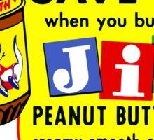 JIF Sticker
