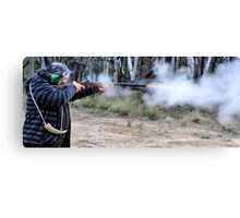 Muzzle Loading Fun - Hill Ends NSW Australia Canvas Print