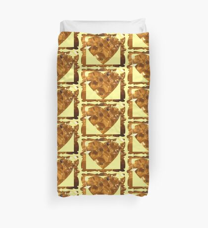 bunches of glass grapes Duvet Cover