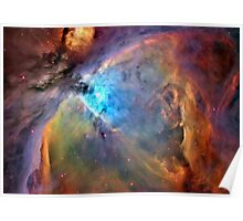 Orion Nebula Space Galaxy  Poster