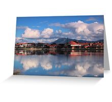 Winters Day Lake Tuggeranong Canberra  no 5 Greeting Card