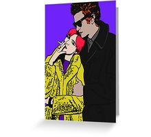 Crazy For You Greeting Card