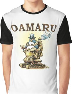 Steampunk Penguin Oamaru Graphic T-Shirt