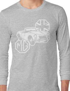 MG MGA Classic British Sports Car Long Sleeve T-Shirt