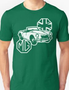 MG MGA Classic British Sports Car Unisex T-Shirt