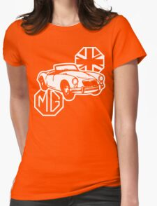 MG MGA Classic British Sports Car Womens Fitted T-Shirt