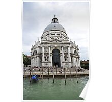 Cathedral in Venice Poster