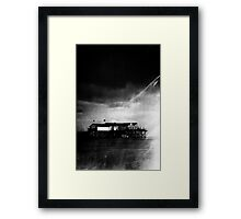 The treasure chest - Come in Framed Print