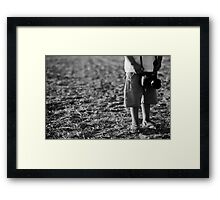 most young photographer Framed Print